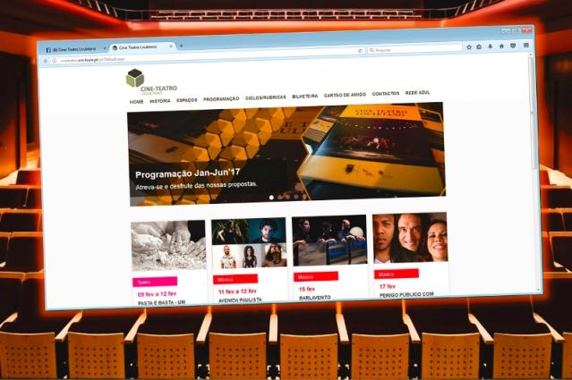Site do Cine-Teatro Louletano